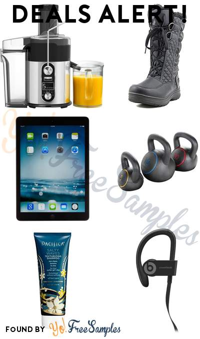DEALS ALERT: Bella Juice Extractor, Totes Winter Boot, Apple iPad Air, Gold's Gym Kettlebell Kit & More