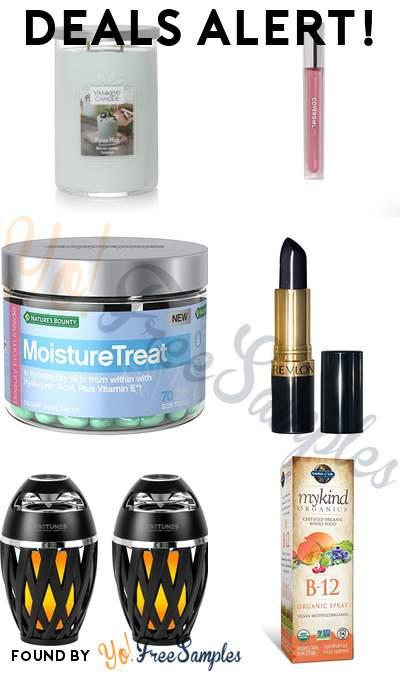 DEALS ALERT: Yankee Candle, COVERGIRL Colorlicious Gloss, Nature's Bounty Moisturetreat Vitamins, Revlon Super Lustrous Lipstick & More