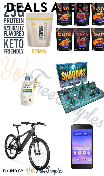 DEALS ALERT: Isopure Keto Friendly Protein Powder, Aveeno Sheer Hydration Lotion, ThinkFun Shadows in the Forest Board Game & More