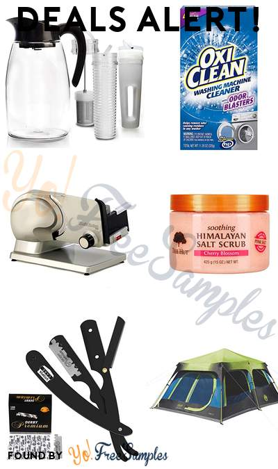 DEALS ALERT: Primula Beverage System, OxiClean Washing Machine Cleaner, Chef'sChoice Food Carriage, Tree Hut Soothing Himalayan Salt Scrub Cherry Blossom & More