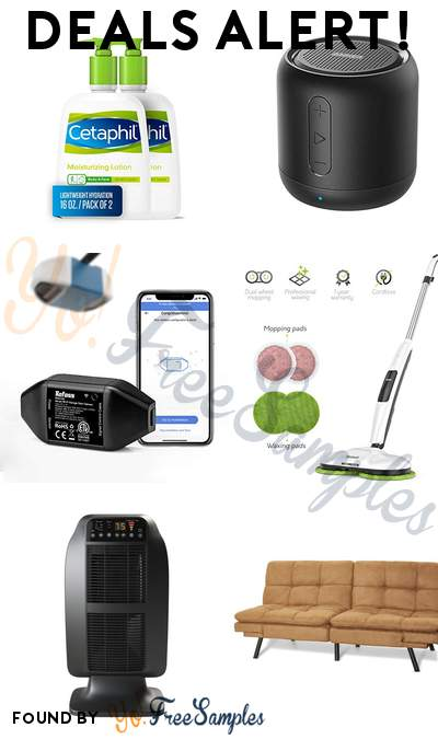 DEALS ALERT: Cetaphil Moisturizing Lotion 2-Pack, Anker Soundcore Mini, Refoss Smart Wi-Fi Garage Door Opener, Gladwell Cordless Electric Mop 3 in 1 Spinner + Scrubber + Waxer & More