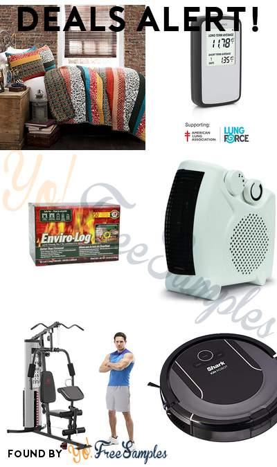 DEALS ALERT: Piece Bohemian Design Bedding Set, Corentium Home Radon Detector, Enviro-Log 3lb Firelogs 6-Pack, Soleil Personal Heater & More