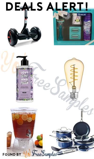 DEALS ALERT: Segway miniPRO, Schick Hydro Silk Bathroom Essentials Gift Set, GE LED Vintage Style Bulbs & More