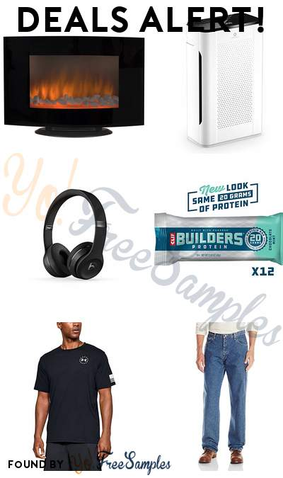DEALS ALERT: Fireplace Heater, Airthereal Air Purifier, Beats Solo3 Wireless On-Ear Headphones, CLIF BUILDERS Protein Bars & More