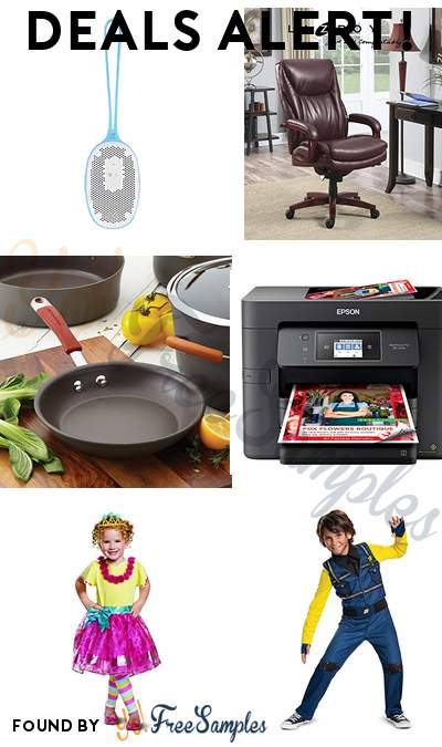 DEALS ALERT: Altec Lansing Aqua Bliss Voice Bluetooth Speaker, La Z Boy Leather Office Chair, Rachael Ray Hard Anodized Nonstick Cookware Pots and Pans Set, Epson Workforce Pro All-in-One Wireless Color Printer w/ Copier, Scanner, Fax and Wi-Fi & More