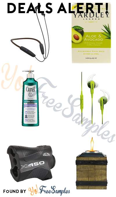 DEALS ALERT: Klipsch Neckband, Yardley Aloe & Avocado Bar, Curél Itch Defense Moisturizer, Bose SoundSport In-Ear Headphones & More