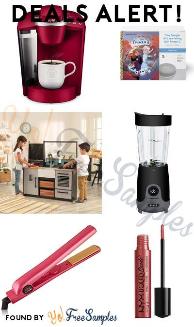 DEALS ALERT: Keurig K-Classic Coffee Maker, Google Home Mini + Frozen II Book Bundle, KidKraft Farm to Table Play Kitchen, Bella Personal Blender & More