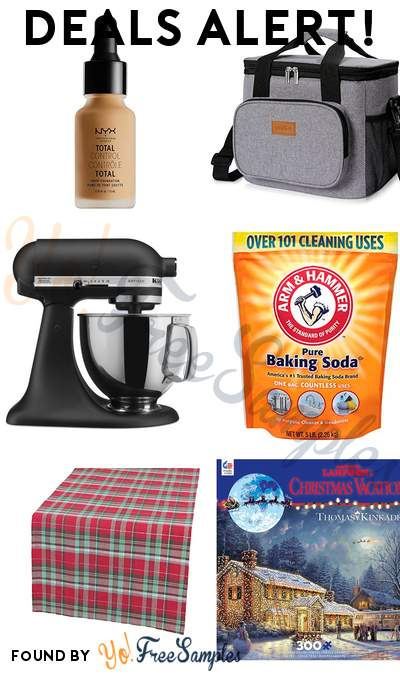 DEALS ALERT: NYX Total Control Drop Foundation, Lifewit Insulated Lunch Box, KitchenAid Stand Mixer, Arm & Hammer Pure Baking Soda 5 lb & More