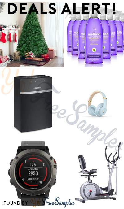 DEALS ALERT: Artificial Christmas Pine Tree, Method All Purpose Cleaner, Bose SoundTouch Wireless Speaker, Beats Studio3 Wireless Noise Cancelling Headphones & More