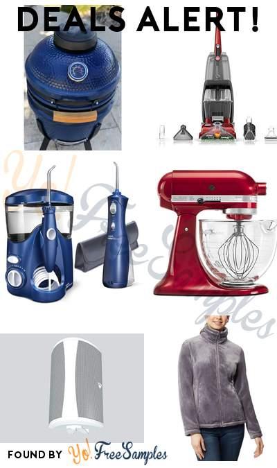 DEALS ALERT: Outdoor Speaker, Hoover Power Scrub Deluxe Carpet Cleaner Machine, Waterpik Ultra Cordless Water Flosser, KitchenAid 5-Qt. Artisan Design Series & More