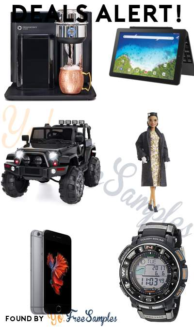 DEALS ALERT: Keurig Drinkworks Home Bar, RCA Viking Pro 2-in-1 Tablet, Best Choice Products 12V Kids Ride On Truck Car, Barbie Inspiring Women Rosa Parks Doll & More
