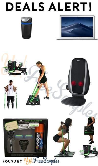 DEALS ALERT: HoMedics 5 IN 1 Air Purifier, Apple MacBook Air, BodyBoss Full Portable Gym, HoMedics Shiatsu Massage Cushion & More