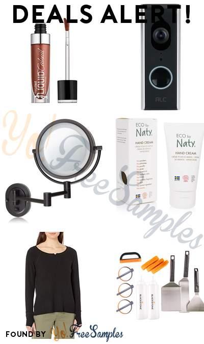 DEALS ALERT: wet n wild Megalast Lipstick, ALC Video Doorbell, Jerdon LightedWall Mount Makeup Mirror, Eco by Naty Organic Hand Cream & More