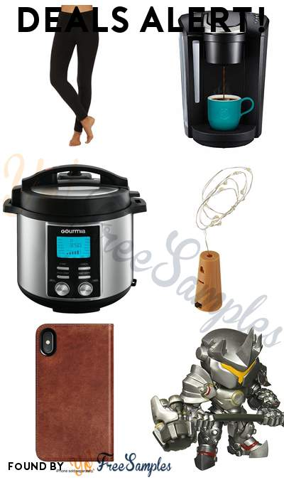 DEALS ALERT: SONGMICS LED Mirror Jewelry Cabinet, Aroma Cooker + Food Steamer, LEGO Star Wars VIII BB-8 Building Kit, CHEFMAN Air Fryer, Leggings, Hoodie & More