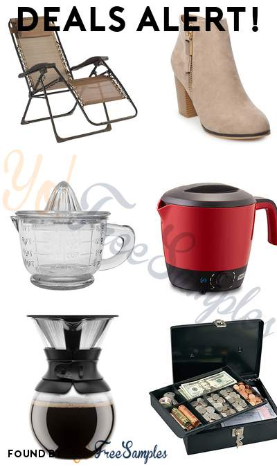 DEALS ALERT: Antigravity Chair, Women's High Heel Ankle Boots, Glass Juicer, Electric Cooker Hot Pot & More