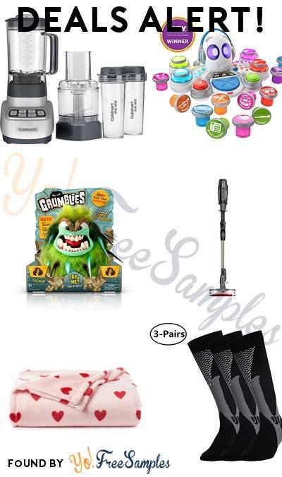DEALS ALERT: Cuisinart Blender + Food Processor, Fisher-Price Rocktopus, Shark ION F80 Lightweight Cordless Stick Vacuum & More