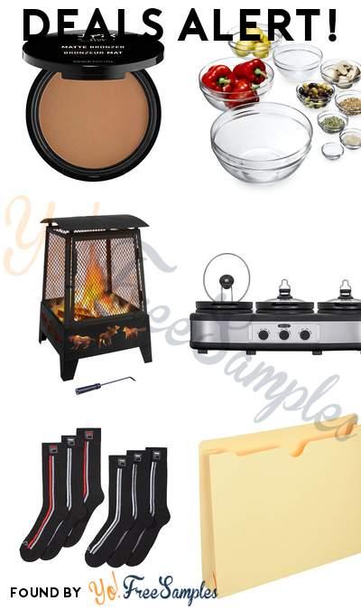 DEALS ALERT: NYX PROFESSIONAL MAKEUP Matte Bronzer, Luminarc 10-Piece Set Stackable Bowl Set, Landmann Wood Fireplace, Bella Triple Slow Cooker & More