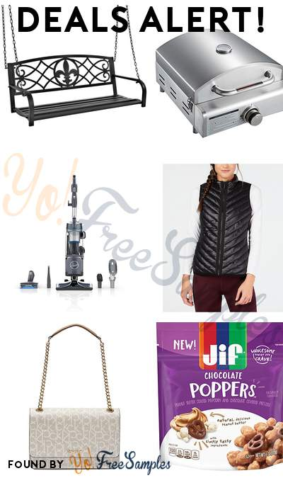 DEALS ALERT: Hanging Patio Porch Swing, 3 IN 1 Pizza Oven Grill, Hoover React Upright Vacuum Cleaner, Calvin Klein Performance Quilted Vest & More