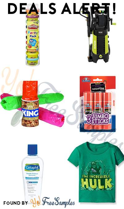 DEALS ALERT: Play-Doh Party Pack, Electric Pressure Washer, Three Snakes in A Can Prank, Elmer's Glue Sticks & More