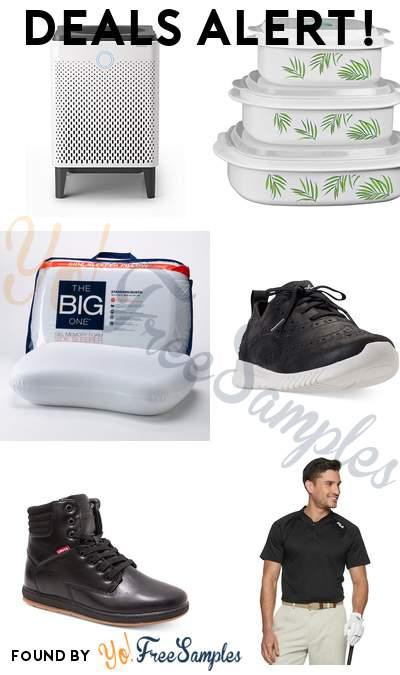 DEALS ALERT: Airmega Smart Air Purifier, Corelle 6-Piece Microwave Cookware, The Big One Gel Memory Foam Side Sleeper Pillow, Skechers Women's Walking Sneakers & More
