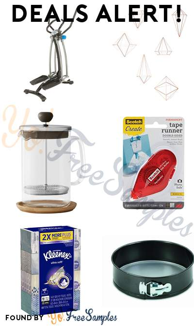 DEALS ALERT: PROGEAR Stride Air Walker, Umbra Prisma Wall Decor, Caribou Coffee French Press, Scotch Tape Runner & More