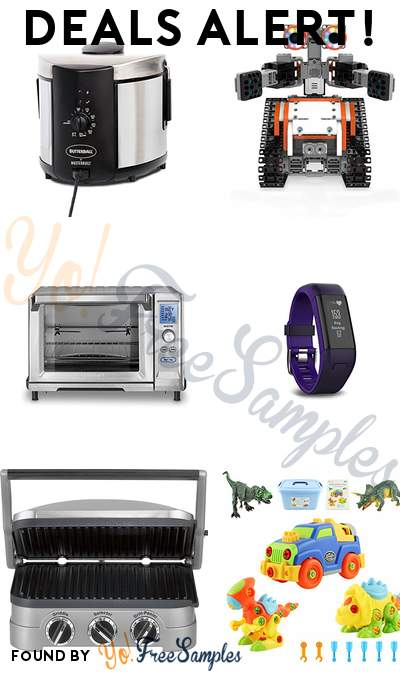 DEALS ALERT: Butterball Electric Fryer, UBTECH JIMU Robot Astrobot STEM Learning Kit, Cuisinart Rotisserie Convection Oven, Garmin vívosmart HR+ Activity Tracker & More