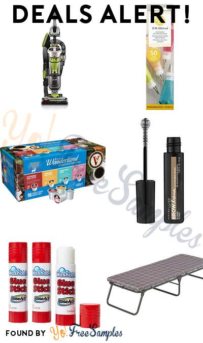 DEALS ALERT: Hoover Vacuum Cleaner, Cake Decorating Bags, Victor Allen's Premium Variety Pack Coffee Pods, Maybelline Brow Drama Mascara & More