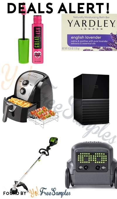 DEALS ALERT: Maybelline Great Lash Mascara, Yardley Lavender Soap Bar, Secura Electric Hot Air Fryer, WD 16TB External Hard Drive & More