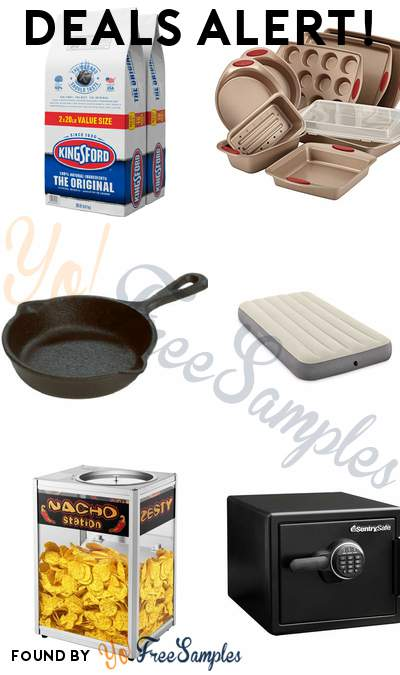 DEALS ALERT: Kingsford Charcoal Briquettes, Rachael Ray Bakeware Set, Lodge Mini Skillet, Intex Airbed Twin & More