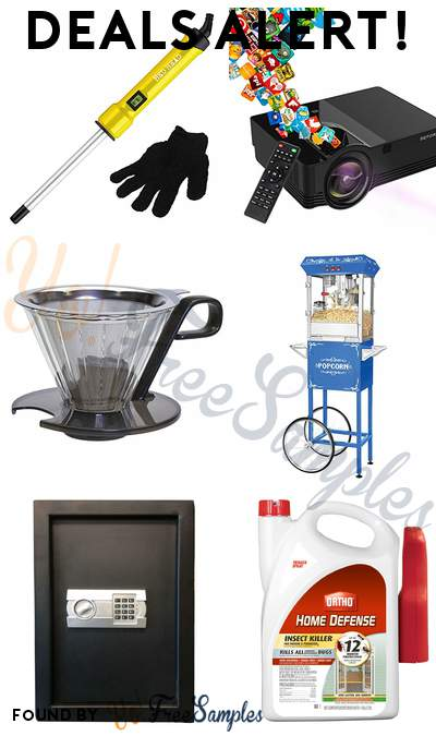 DEALS ALERT: Bed Head Skinny Pop Curling Wand, Mini Projector Full HD LED, Pour Over Coffee Maker, Great Northern Popcorn Machine & More