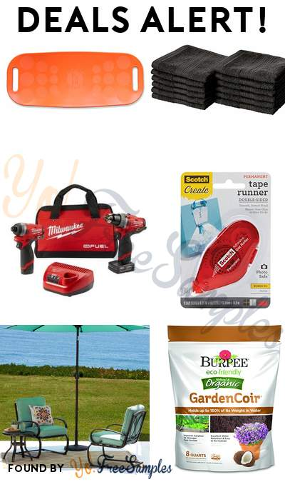 DEALS ALERT: Simply Fit Balance Board, AmazonBasics Cotton Washcloth 12-Pack, Milwaukee Electric Tools, Scotch Tape Runner & More