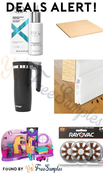 DEALS ALERT: Olay ProX Dark Spot Corrector, Pizzacraft 15″ Baking/Pizza Stone, Contigo Travel Mug, Under Door Sweep & More