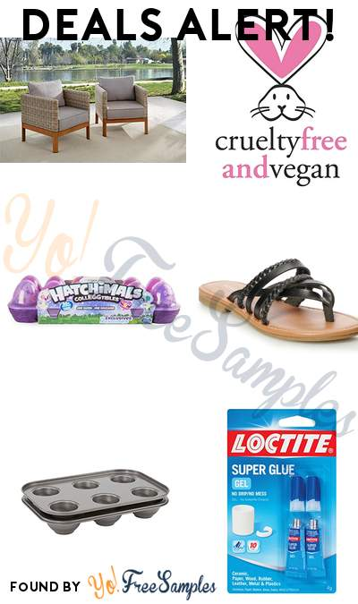 DEALS ALERT: COSCO Outdoor Lounge Chairs, Pacifica Beauty Perfumed Hair & Body Mist, Hatchimals CollEGGtibles, SONOMA Goods for Life Angeline Women's Sandals & More