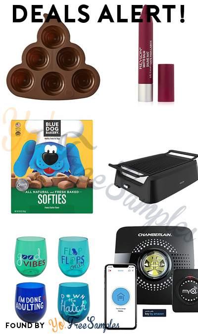 DEALS ALERT: Poop Emoji Cake Pan, Revlon Matte Balm, Blue Dog Bakery Natural Dog Treats Peanut Butter, Philips Smoke-less Indoor BBQ Grill & More