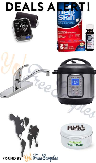 DEALS ALERT: Omron 10 Series Blood Pressure Monitor, New-Skin Liquid Bandage, Peerless Single-Handle Kitchen Sink Faucet, Instant Pot DUO Plus 60 6 Qt  9-in-1 & More