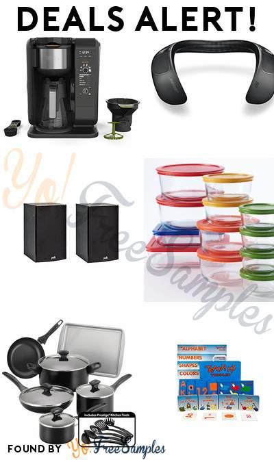 DEALS ALERT: Ninja Hot and Cold Brewed System, Bose Wearable Speaker, Polk Audio Bookshelf Speakers, Pyrex 24-pc. Storage Set & More