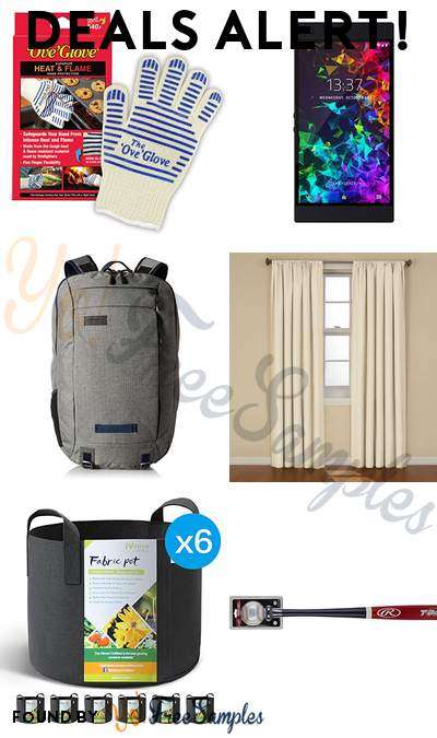 DEALS ALERT: Ove' Glove, Razer Phone 2 Unlocked, Timbuk2 Laptop Backpack, ECLIPSE Blackout Curtains for Bedroom & More