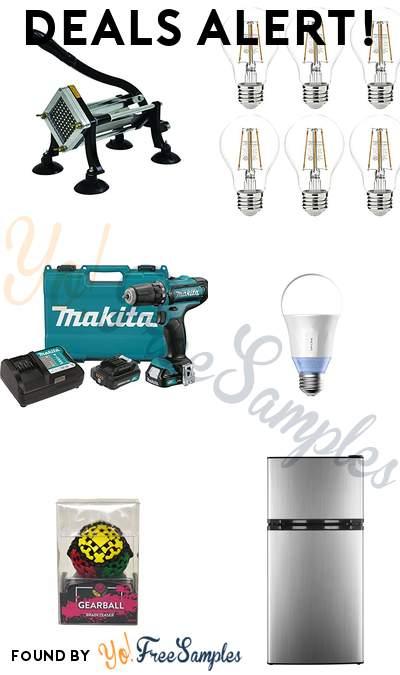 DEALS ALERT: CHARD French Fry Cutter, AmazonBasics LED Light Bulbs, Makita Cordless Driver-Drill Kit, TP-Link Smart Wi-Fi LED Bulbs & More