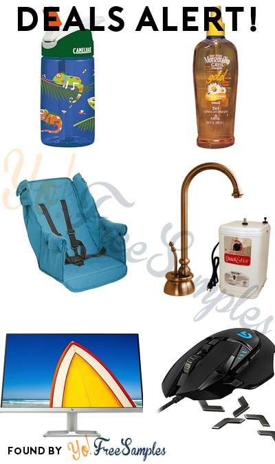 DEALS ALERT: CamelBak Eddy Kids Water Bottle, Grisi Manzanilla Gold Lightener and Detangler, Joovy Caboose Rear Seat, Westbrass Calorah Single-Handle Hot Water Dispenser Faucet with Hot Water Tank in Antique Copper & More
