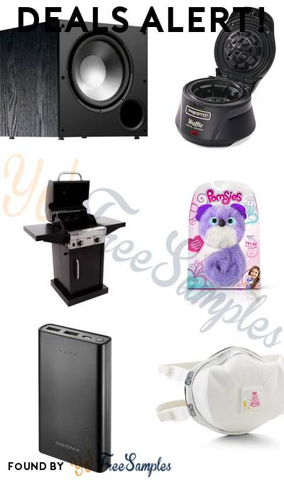 DEALS ALERT: Polk Audio Subwoofer, Presto Belgian Waffle Bowl Maker, Char-Broil TRU-InfraRed 2-Burner Grill, Pomsies Sydney Koala Toy & More