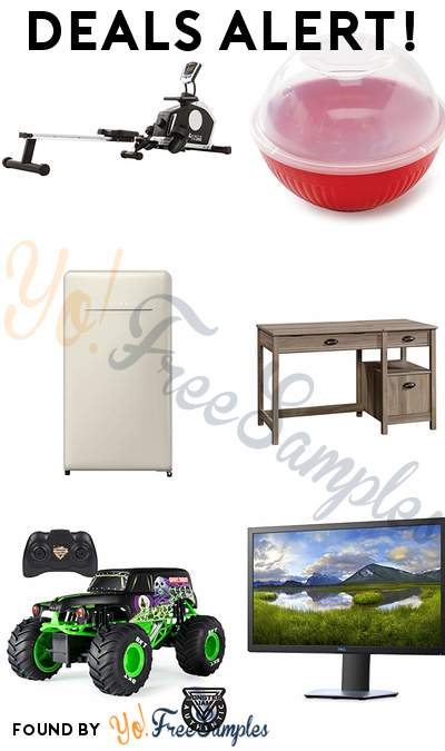 DEALS ALERT: XTERRA Resistance Rower, Quick Popcorn Single Serve Popper, Retro Compact Refrigerator, Harbor View Lift Top Desk & More