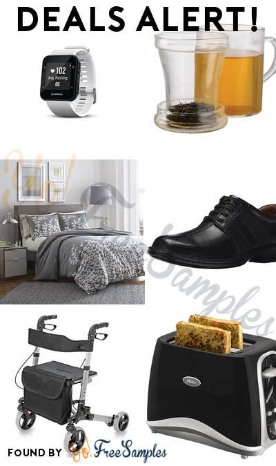 DEALS ALERT: Garmin Forerunner 35 GPS Running Watch, Primula Glass Mug with Loose Tea Infuser,City Scene  Duvet Cover Set, Clarks Men's Touareg Vibe Oxford Shoe & More