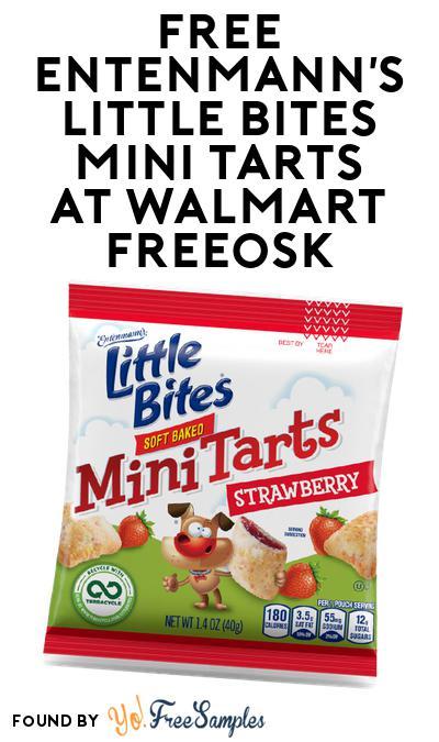 FREE Entenmann's Little Bites Mini Tarts At Walmart Freeosk