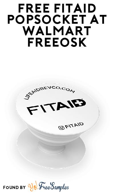 FREE FitAid PopSocket At Walmart Freeosk