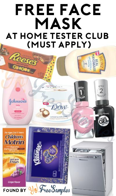 FREE Hydrating Face Mask At Home Tester Club (Must Apply)