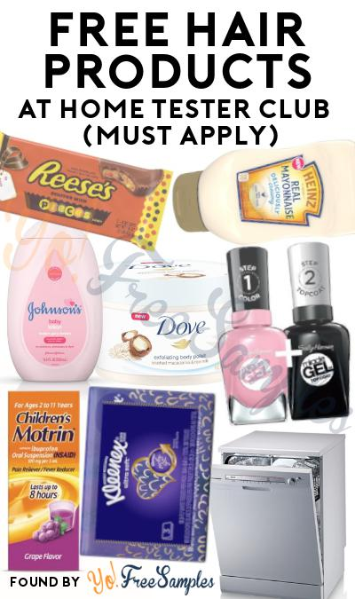 FREE Haircare Gel, Shampoo, Cream & Other Products At Home Tester Club (Must Apply)