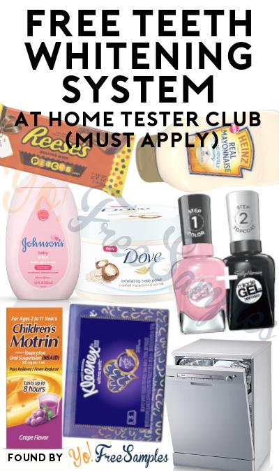FREE P&G Advanced LED Whitening Device At Home Tester Club (Must Apply)