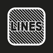 FREE App iOS Lines White - Icon Pack