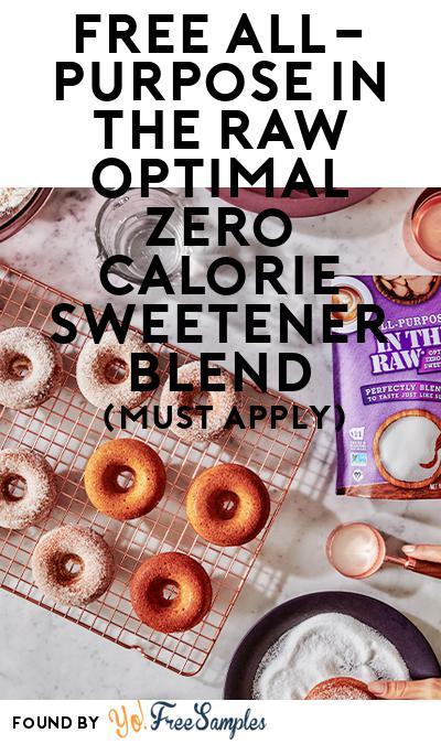 FREE All-Purpose In The Raw Optimal Zero Calorie Sweetener Blend (Mom Ambassador Membership Required)