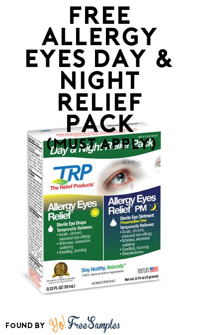 FREE Allergy Eyes Day & Night Relief Pack (Mom Ambassador Membership Required)